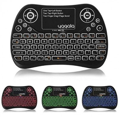 YAGALA Backlit Mini Wireless Keyboard